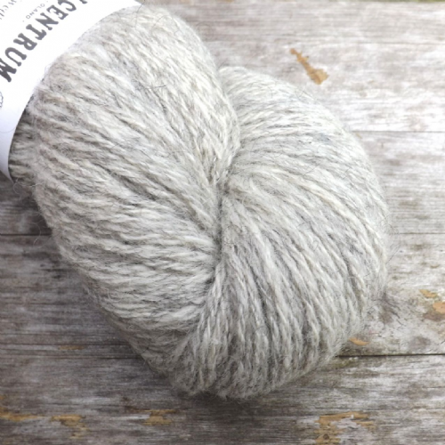 Ullcentrum Solids 3-ply - Natural Lightest Grey
